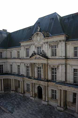 The original Mansard roof found in the Chateau Blois