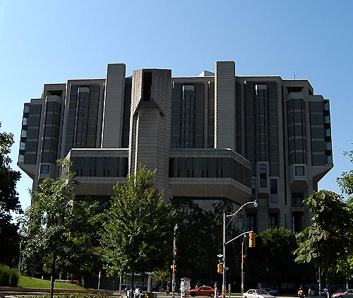 Brutalist Library