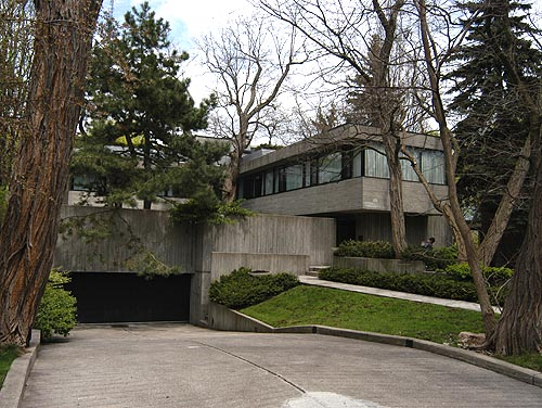 Brutalist House