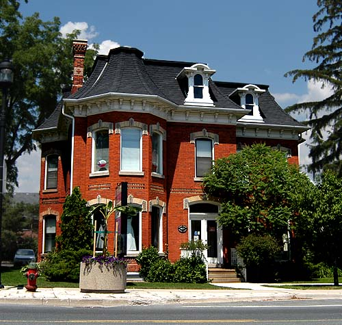 Second Empire residence in Waterdown