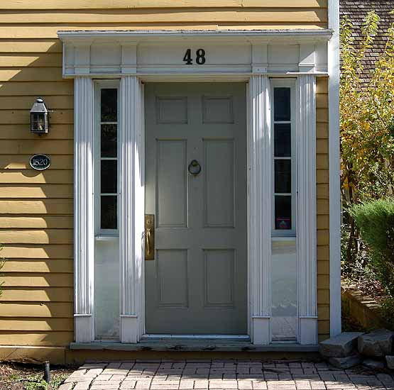 This Is A Key Indicator Of The Style Of The Building. Door Surrounds Can  Have Pediments, Splays, And Cornices, But Always Have Jambs, Reveals, And  Casings.