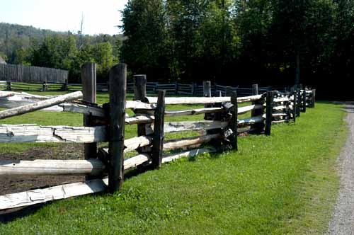 Fort William fence