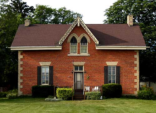 stratford - Gothic Revival Farmhouse Plans