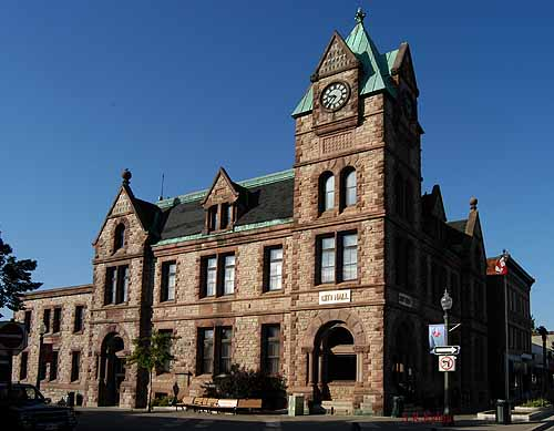 Romanesque City Hall
